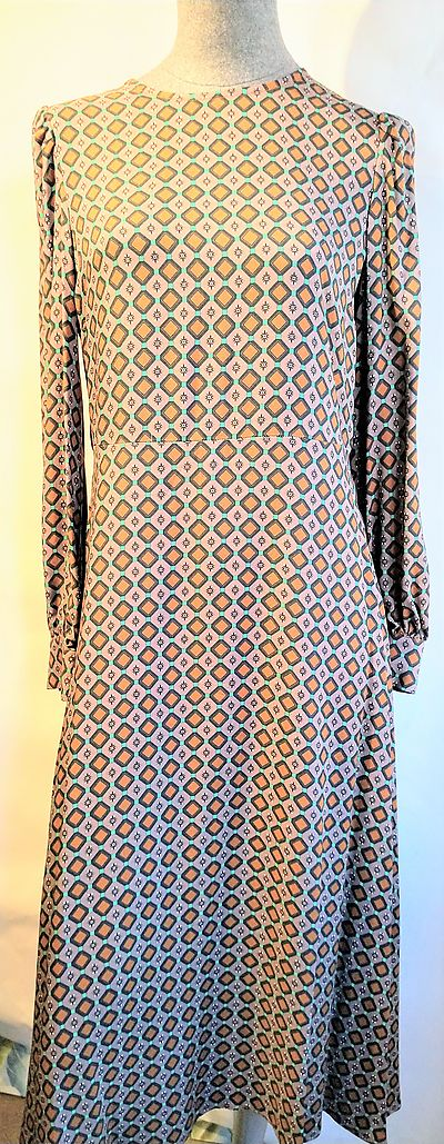 Dress Goodmatch geometric print long