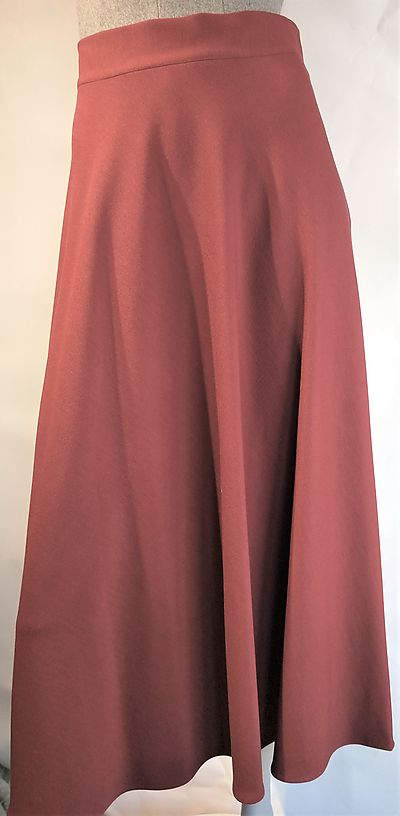 Skirt Goodmatch burgundy long