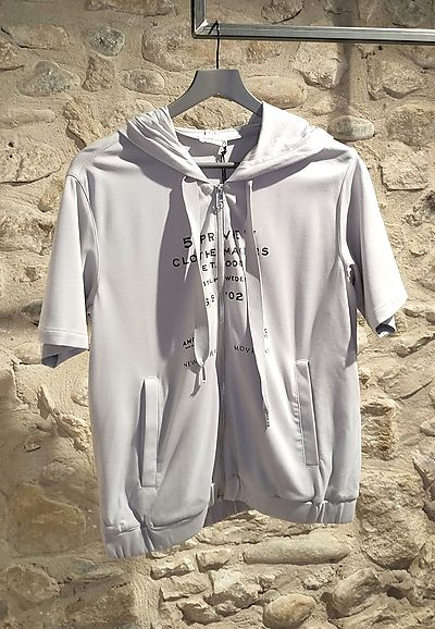 Hoodie 5preview gris