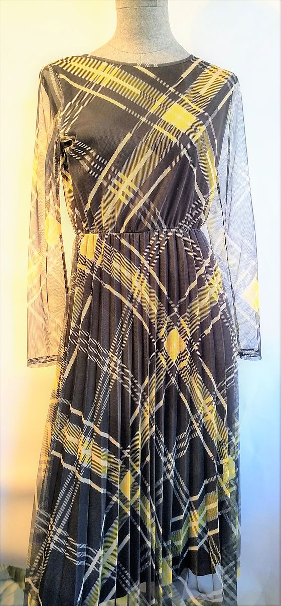 Dress B.yu checkered